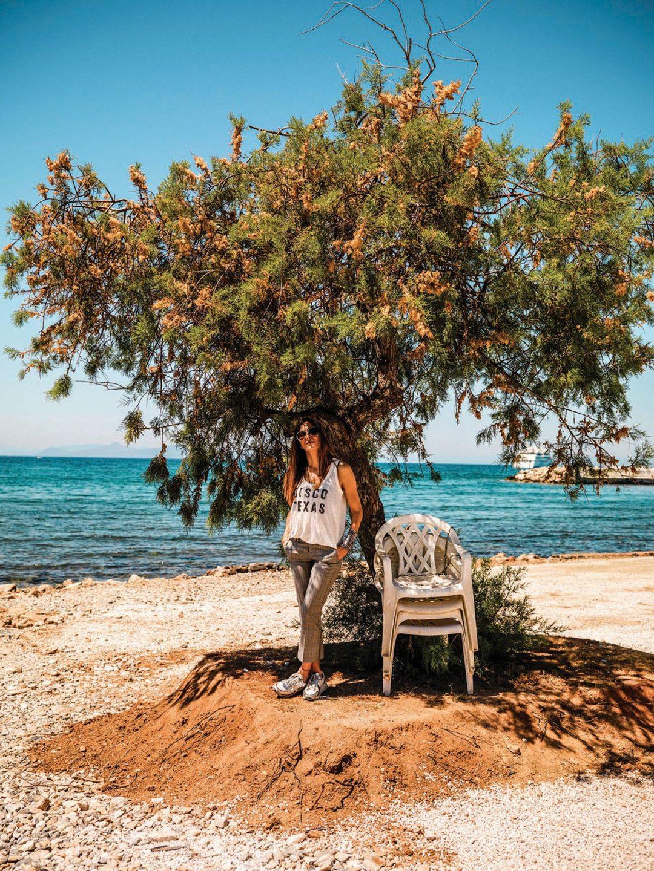 Rania's favourite walk at the beach.