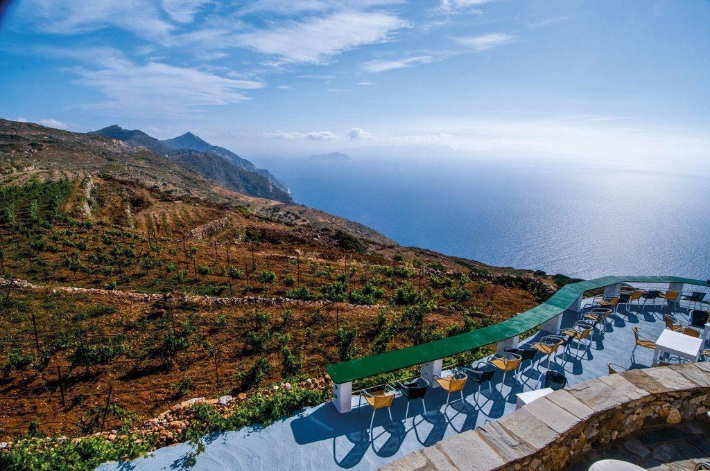 Breathtaking view of the Aegean Sea.