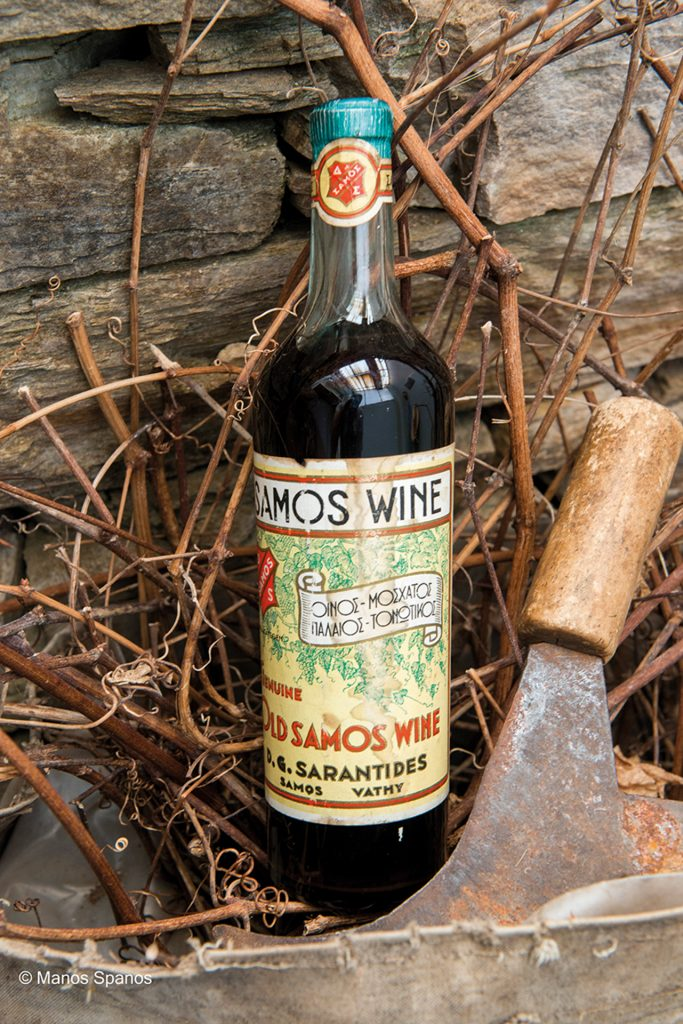 All of the Samos' wines are naturally sweet.